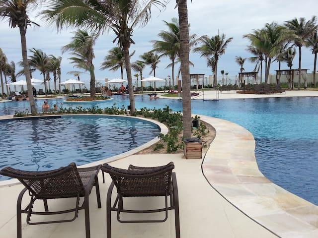 Excelente apto no Golf Ville Resort - Aquiraz - Lejlighed