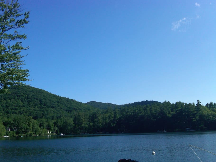Beautiful Squam Lake.