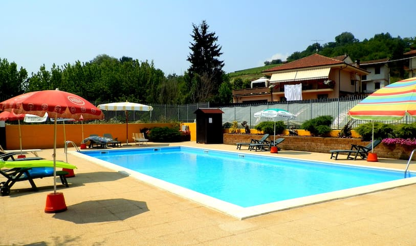 Apartment with pool access - San Matteo - Daire