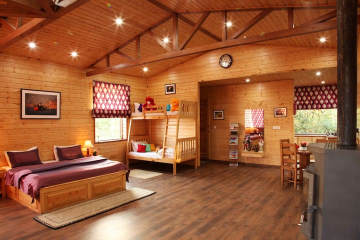 The Wood House - Mussoorie - Vacation home