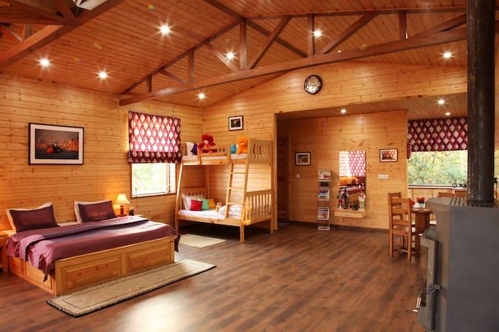 The Wood House - Mussoorie - Maison de vacances
