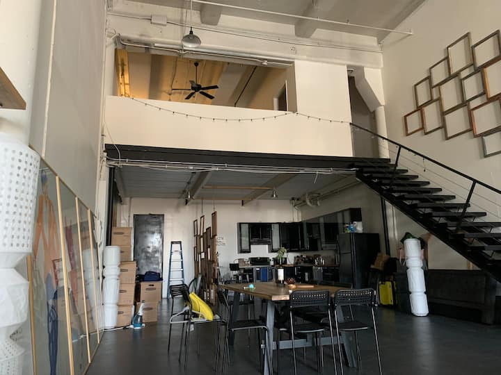 Artist Los Angeles Loft