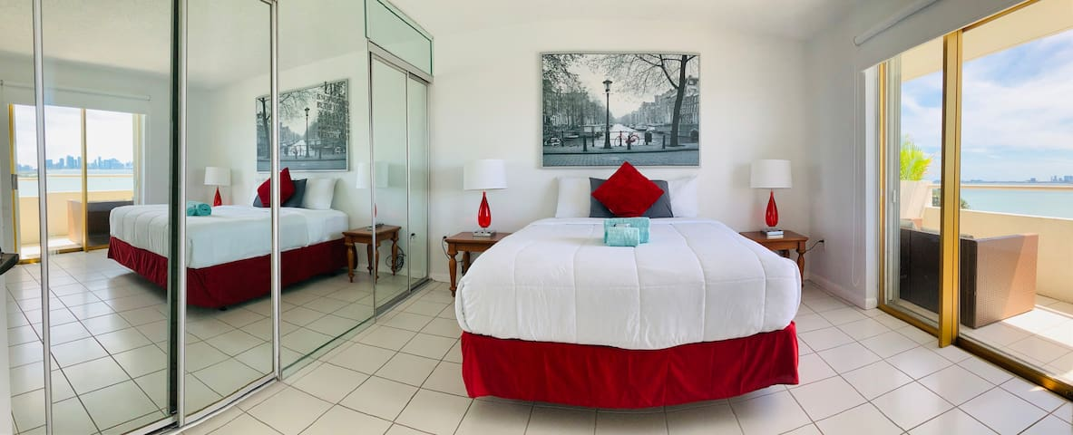 INCREDIBLE VIEWS  from this Miami Beach condo!!