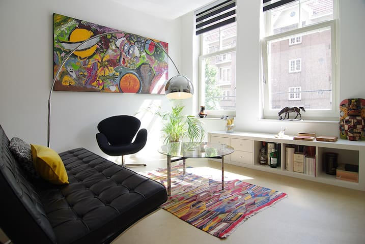 Modern looking apartment in Amsterdam Westerpark