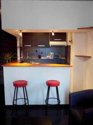studio meublé - Serres - Apartment