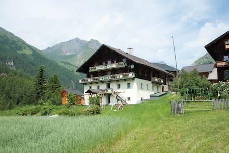 Biobauernhof Schneider, Urlaub am Großglockner - Burg