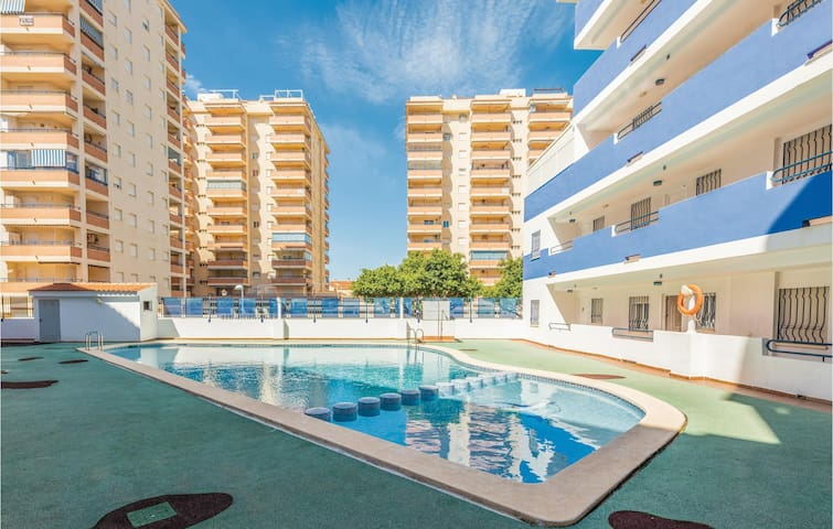 Holiday apartment with 2 bedrooms on 40m² in Oropesa del Mar