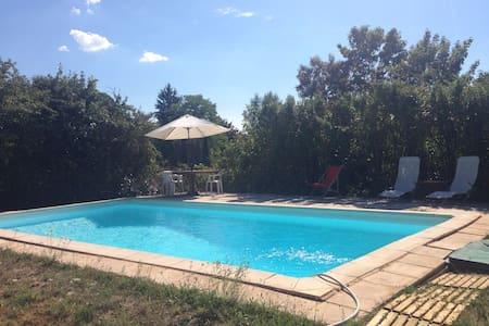 Gîte 8 pers avec piscine privée et Wifi - Parnac - 獨棟