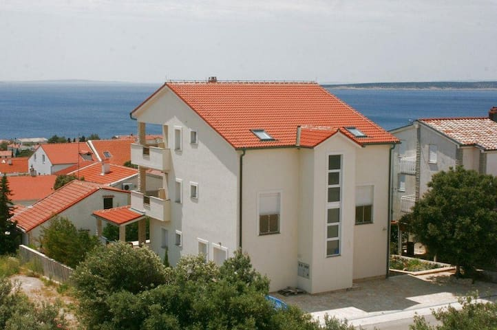 One bedroom apartment with terrace and sea view Mandre, Pag (A-6484-c) - Mandre - Daire