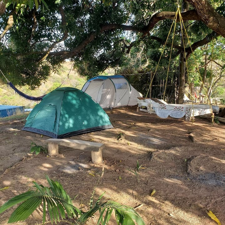 Pedasi Natu' Rio Camp.           camping naturel