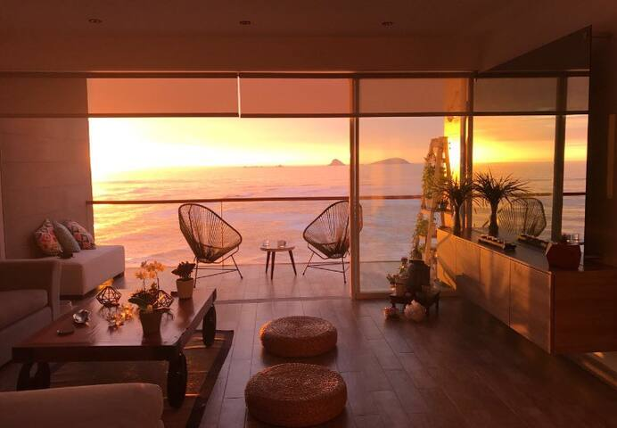 Frente al Mar-nuevo y moderno-Playa Punta Hermosa