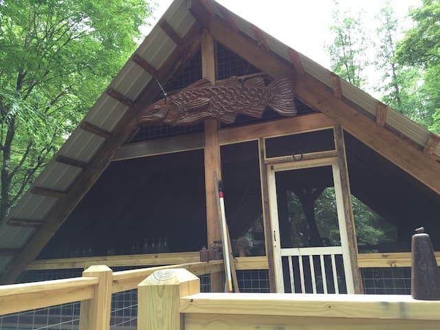 """North Georgia Mountains """"Treehouse Sleeping Porch"""""""