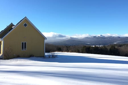 Private Ski Getaway on 120 Acres - Jay Peak - Troy - Hus