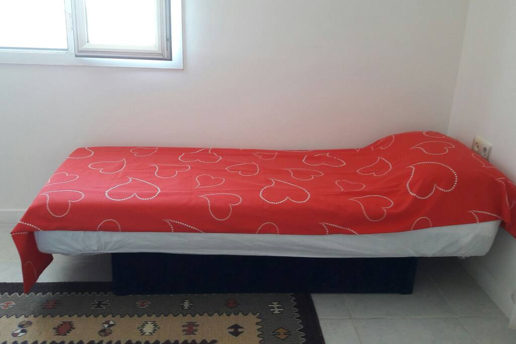 Guest bed in Double/Family Bedroom. Sleeps 3. Extra Fee.