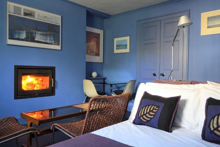 The Blue Room at Haroldston House, Solva