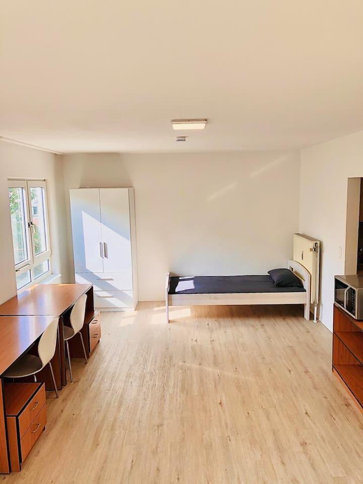 Schönes helles Appartement in der schönen Mainz