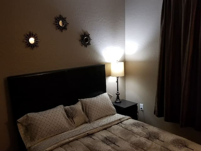 Elegant, Modern Private Bedroom, with Cable TV