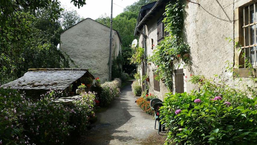 maison de charme - saint pierre de trivisy - Casa