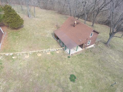 Privat, Bluff-Top Cottage over Mississippi-elven