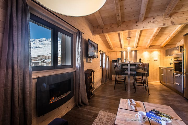 Un grand studio 4* au sommet ! - Huez - Apartment