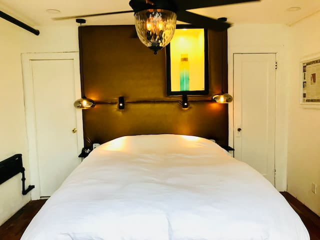 Magic at the Castle: private bedroom and bathroom