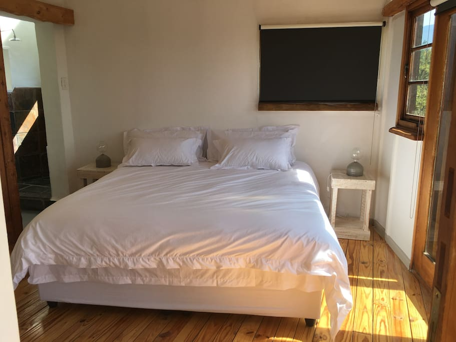 One of our bedrooms: Unit 2 ('Canyon Room')