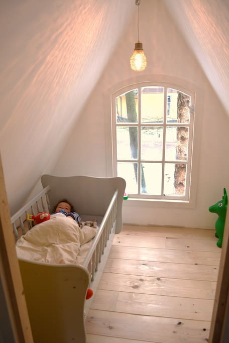The smallest bedroom in the house