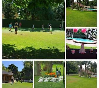 Quinta de verano en villa Elisa