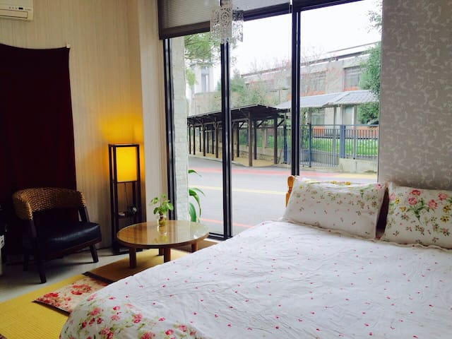 Yue Retreat Cozy Double Room - 魚池鄉 - House