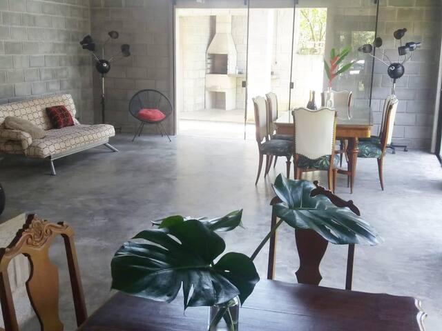 Casa em condomínio, Massaguaçu - Caraguatatuba