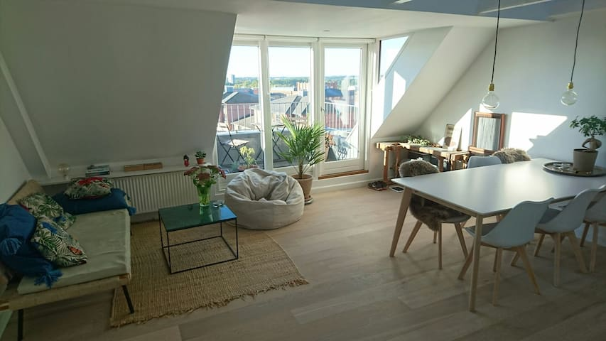 Apartment in the very center of Århus - great view - Aarhus - Appartamento