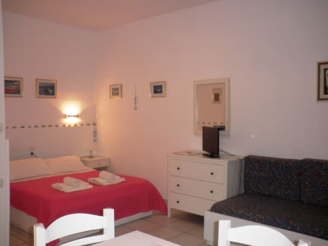 Charming Studio 100m from the sandy beach.