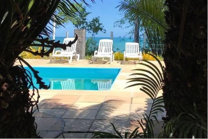 Casa frente ao mar c/ piscina, sobre falésia-Vega2