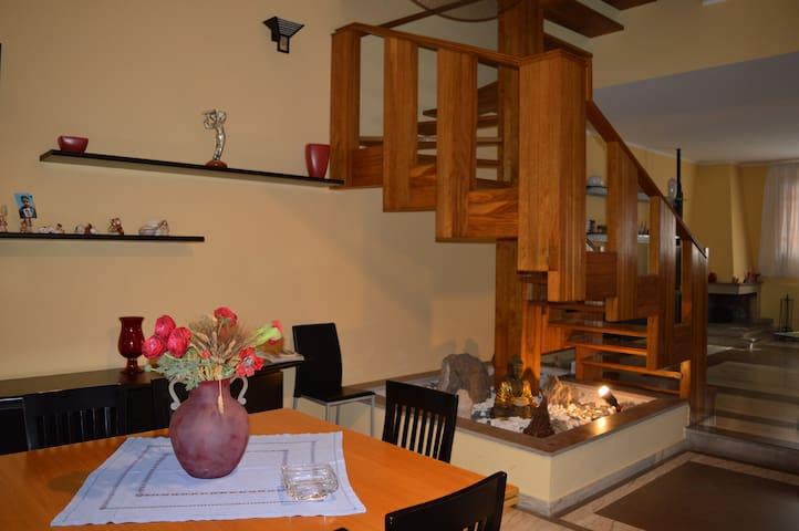 Bellissima e moderna abitazione con ampio giardino