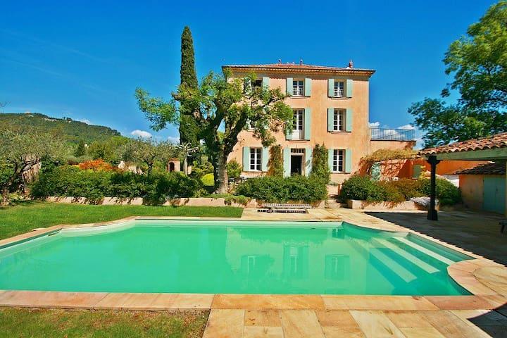 1890s Manor House & Private Pool - Salernes - Casa