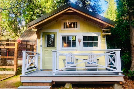 Charming Tiny House On Lake - WiFi - Self Check-in
