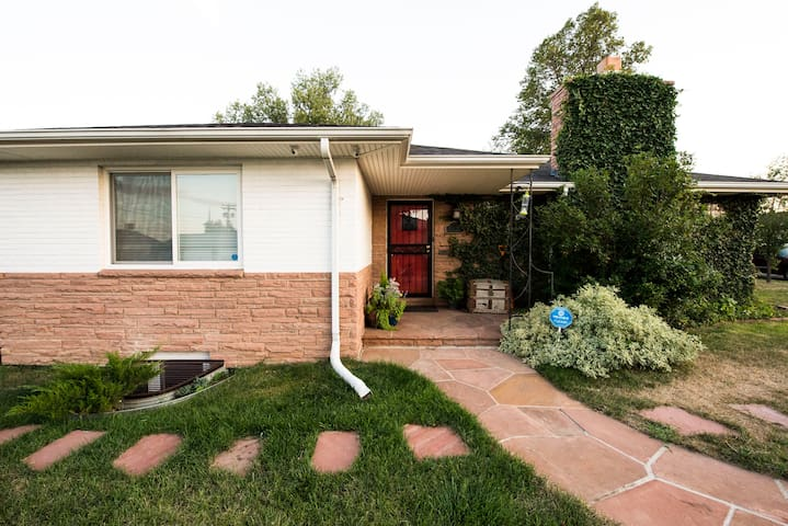 Private 2br/1ba with Theater in Southwest Denver