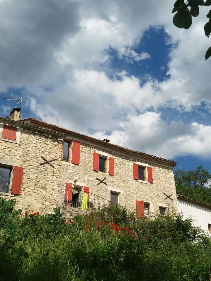 Mas provençal dans le Luberon (Bonnieux)