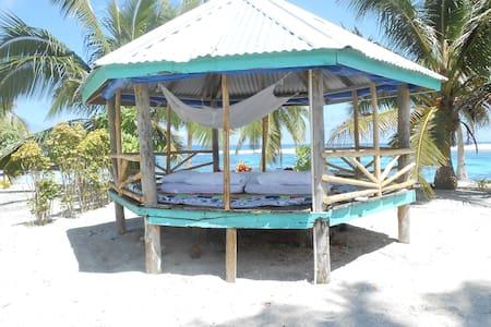 Beach Fale at Matareva Beach 1 - Lotofaga-uta - Bed & Breakfast