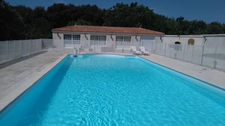 Maison près des plages-accès spa inclus