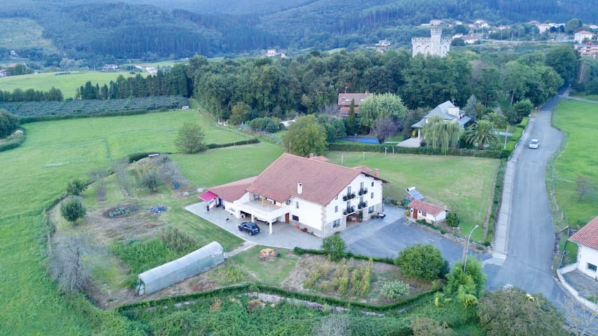 Apartments for large groups in Urdaibai