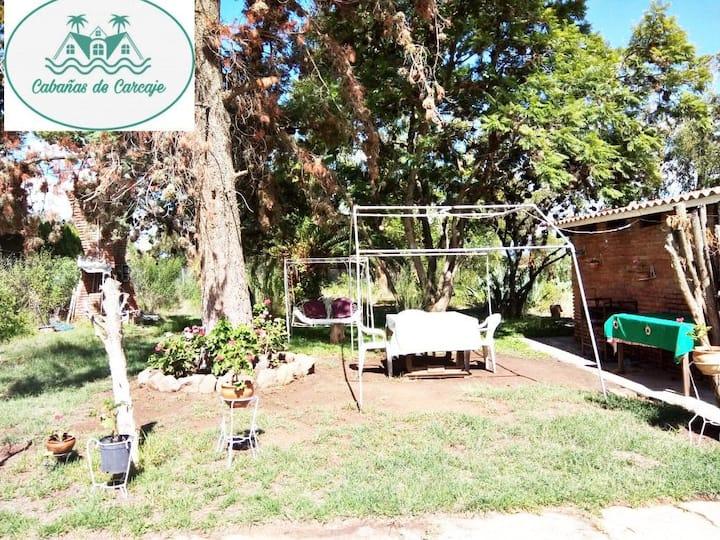Cabañas  de Carcaje es especial para familias