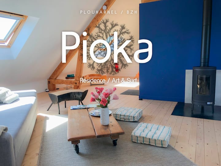 """Pioka"" Loft Art & Surf"