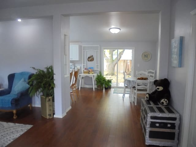 A Large Entry /Living Room / Dining Room...