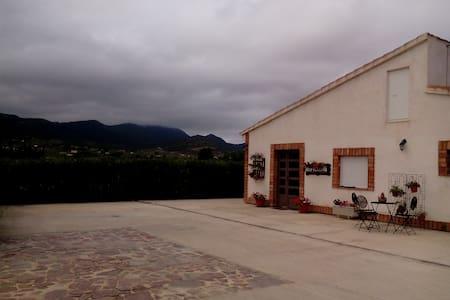 Casa rural en montaña.A 30´de la playa. Dor.matri. - Onil - Dorm