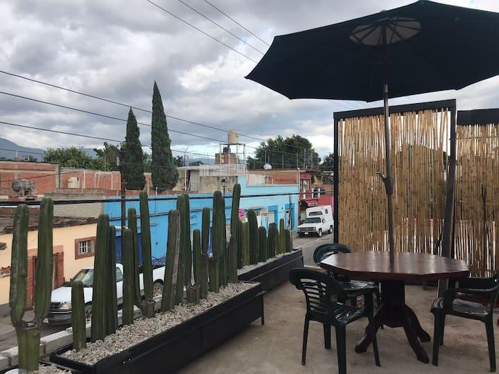 Terraza domo privado en jalatlaco. Beautiful space