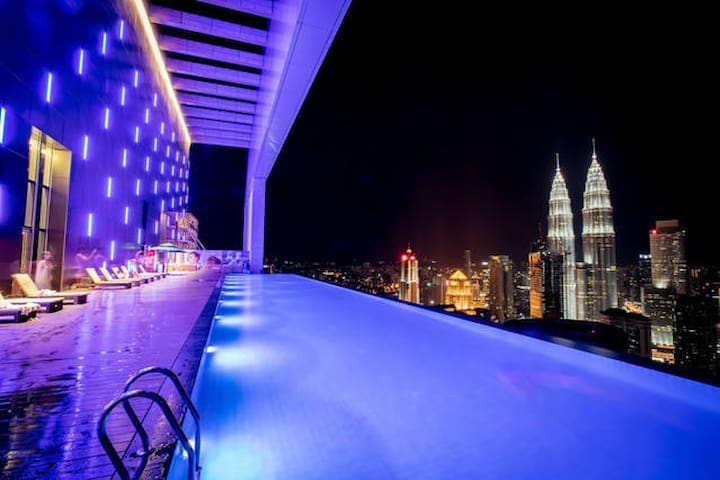 /•/•THE AMAZING KLCC Twin Tower View-2Bedroom•/•/