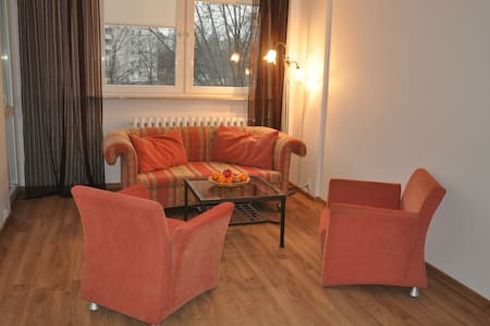 3 rooms apartment, 55 m,  10 min to Old Town - Warsaw