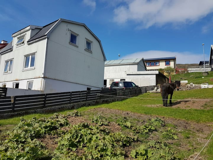 ÁarLon, Faroe Islands, Room no. 1, single bed