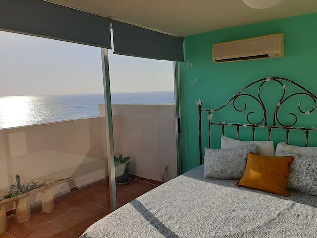 Silvia's romantic Byblos beachfront Duplex
